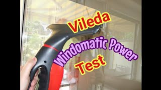 Vileda Windomatic Power Fenstersauger Test-Review - Teil 2