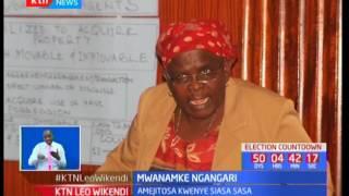 Mwanamke Ngagari: Tunaangazia Bi. Jacinta Mwatela amejitosa kwenye siasa