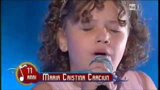 neta de Pavarotti, de apenas 11 anos, interpreta Caruso