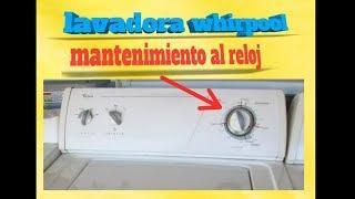 Reparar control programador de lavadora whirpool