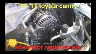 Alternator NOT charging [BATTERY light ON] Toyota Camry 2.5L √ Fix It Angel