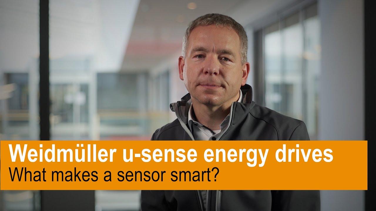 Warum ist u-sense energy drives ein intelligenter Sensor?