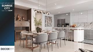 Mẫu thiết kế nội thất căn hộ Sunrise City phong cách Neo-classic