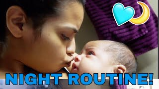 NIGHT ROUTINE AS A MOM!! | CARMEN VLOGS