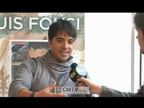 Luis Fonsi video Entrevista en Argentina - Agosto 2012