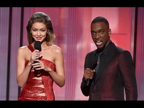 Gigi Hadid does Melania Trump impression - Full Monologue at the AMAs