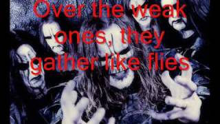 Dark Funeral - Declaration Of Hate With Lyrics