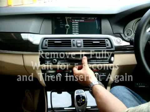 UnlockDVD | To unlock DVD / TV while driving for BMW
