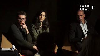 Luciana Castellina, Jorge Moruno & Yianis Varoufakis DiEM25 in Italy