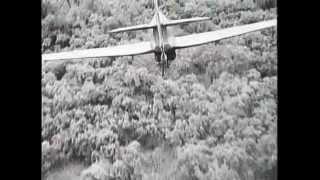 No 42 Squadron RAF, SEAC, Hurricane II attacks Tiddim Road 1944