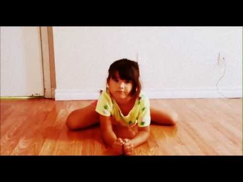 How To Do The Middle Splits( 7 year old )