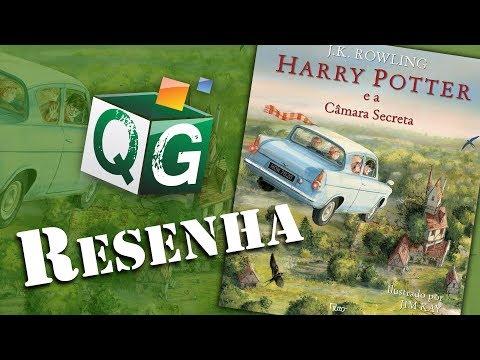 Resenha: Harry Potter e a Câmara Secreta Ilustrado