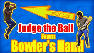 How to Pick the length of the ball from bowler's hand? | Cricket Batting Tips | Nothing But Cricket