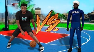 The Best Guard in NBA 2K21 plays me and the Best Guard in NBA 2K20 for $1500.. it gets wild.. wager
