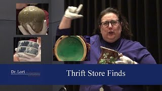 Thrift Store Finds Under $5 - Pottery & Ceramics By Dr. Lori