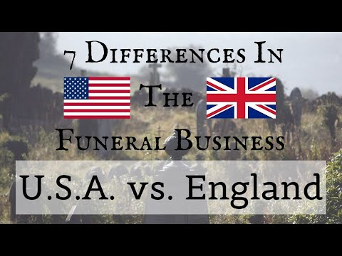 , title : '7 Differences in the Funeral Business USA vs England