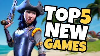 TOP 5 NEW Games in March 2018!
