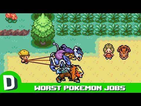 Nejhorší zaměstnání ve světě Pokémonů
