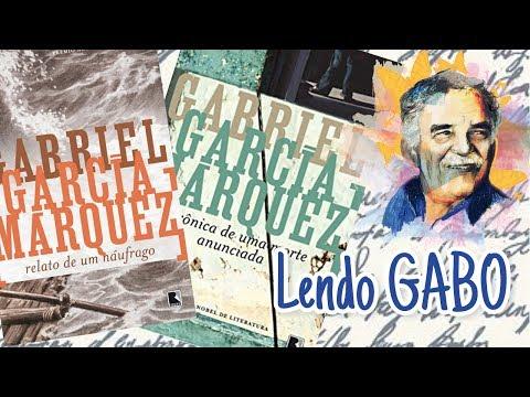 Projeto Lendo Gabo + resenha Relato de um Náufrago e Cônica de uma morte anunciada