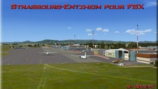 preview picture of video 'Strasbourg-Entzheim LFST for FSx/P3D'