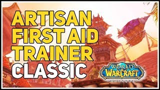 Artisan First Aid Trainer WoW Classic Horde