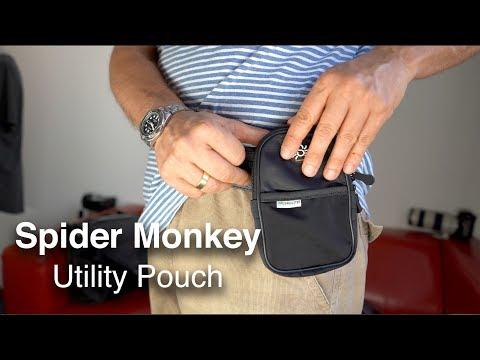 Spider Monkey Utility Pouch - Universal Zubehörtasche für Foto und Alltag! #eycspider
