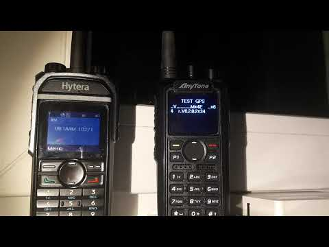 Anytone 878 satellie search in test mode PTT+3 - смотреть онлайн на