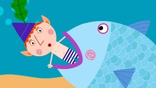 Ben and Holly's Little Kingdom 🐟  Smelling Fishy | Cartoons for Kids