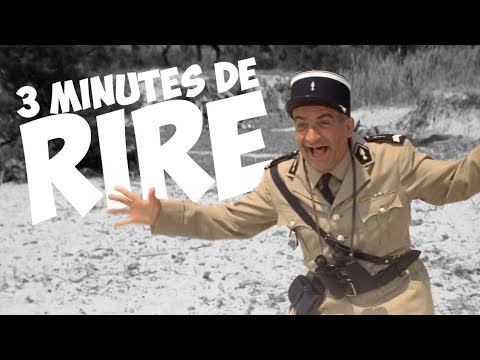 3 minutes de rire avec Louis de Funès !
