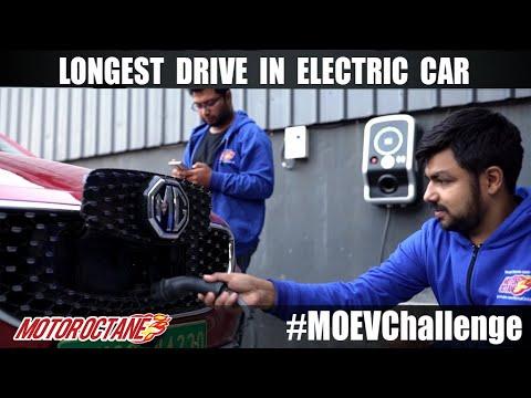 Motoroctane Youtube Video - Longest Drive in Electric Car