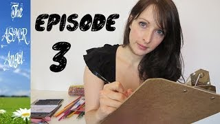 Art With Angel - ASMR Face / Portrait Sketching EP3