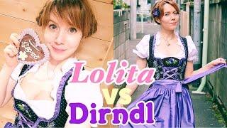 Dirndl oder Lolita Fashion? Was ham wir gemeinsam?
