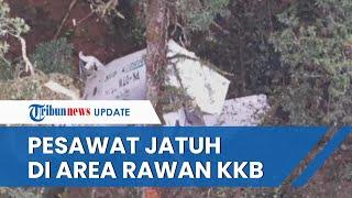 Lokasi Penemuan Pesawat Rimbun Air Jadi Tempat Rawan KKB Papua Pimpinan Zakius, Aktif hingga Kini