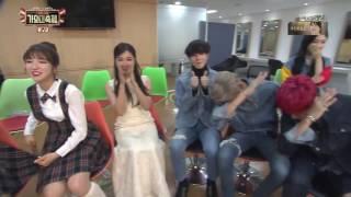 97 Liner (gfriend seventeen etc) in Waiting Room on KBS Gayo Daechukjae 2016