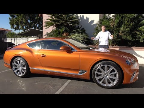 External Review Video EoDf3aUI5dw for Bentley Continental GT (3rd Gen) Coupe & Convertible