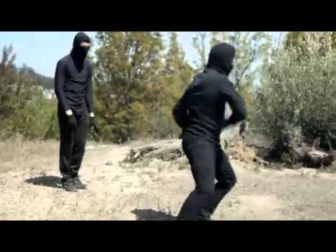 Olya Lvova fight on hill in Blonde Squad 1