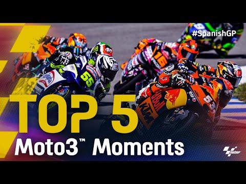 佐々木歩夢は5位 Moto3 2021 第4戦スペインGP 決勝ハイライト動画