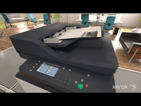 Xerox B1025 Multifunction Photo Copier Printer