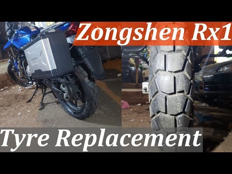 Zongshen Cyclone Rx1 | Tyre Replacement | Timsun Tyres Pakistan | Motorcycle Tires | Tyre Review