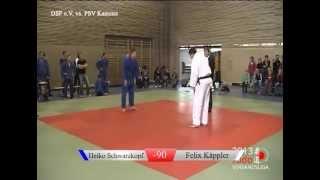 preview picture of video 'Judo Verbandsliga 2013 - 2. Wettkampftag - 90 kg - DSF e.V. vs. PSV Kamenz'