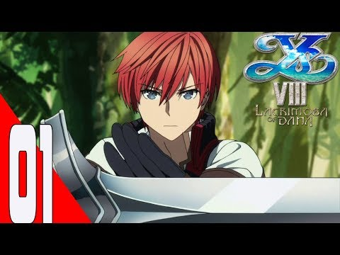 Gameplay de Ys VIII: Lacrimosa of DANA