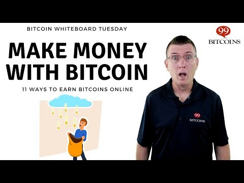11 Ways to Earn Bitcoins & Make Money with Bitcoin (2021 updated)