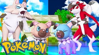 Rockruff  - (Pokémon) - WHO'S YOUR FAMILY? ROCKRUFF, LYCANROC E LYCANROC SHINY NO MINECRAFT ( Pixelmon )