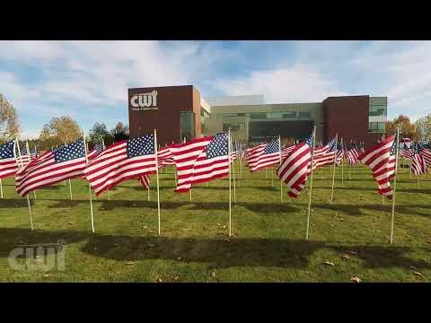2017 Veteran's Field of Honor at CWI