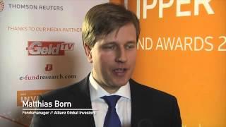 Lipper Fund Awards Deutschland 2013 | Gewinner: Allianz Global Investors, Matthias Born - MeinGeldTV