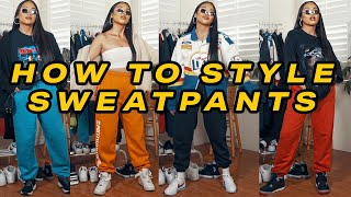 How To Style Sweatpants In 2020 | Mscrisssy