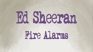 Fire Alarms- Ed Sheeran Animated Music Video by Dani G Tamayo