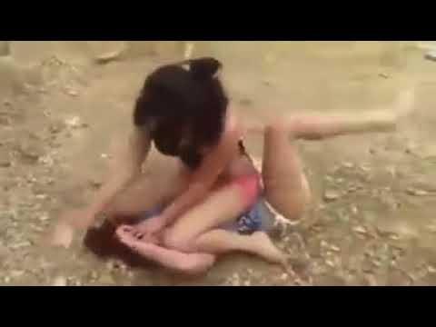 Hot girls fighting naked — photo 1