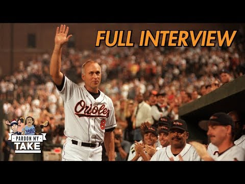 Cal Ripken Jr. Wishes he Played Less - Full interview with Pardon My Take