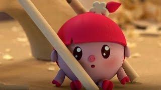 Малышарики -В мастерской - серия 100 - обучающие мультфильмы для малышей 0-4